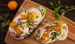 Идея для сытого завтрака: бутерброды с кальмарами