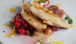 Куриное филе в виноградно-имбирной подливе