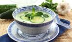 Суп на кефире