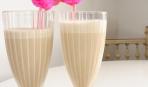 Молочный коктейль с белым шоколадом