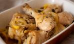 Курица с маслинами и лимоном