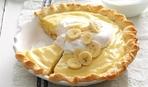 Банановый пирог со сливочно-ванильным кремом