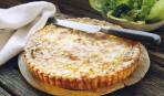 Пирог с консервированной горбушей и картофелем