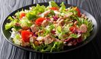 Низкокалорийный салат из морепродуктов «Восход»
