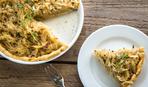 Луково-сырный тарт: пошаговый рецепт