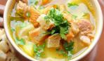 Суп с фенхелем и гренками