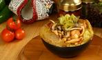 Картошка запеченная с курицей по-восточному