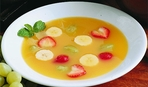 Невероятное сочетание: суп-пюре из ревеня, кураги и яблок