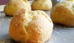 Заварное пирожное с сыром