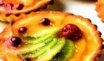 Корзиночки с ягодами и желе