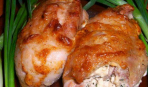 Куриные бедрышки фаршированные