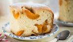 Десертная шарлотка с абрикосами