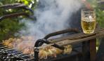 Шашлык из свинины в пивном маринаде - перед его ароматом не устоять