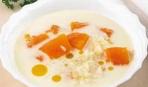 Молочный суп с тыквой и морковью