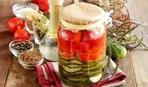 Овощной салат на зиму «Многоэтажка»: пошаговый рецепт