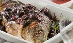 Рыба, запеченная под сливовой шубой: пошаговый рецепт