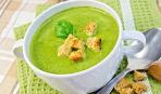 Легкий суп-пюре из шпината: пошаговый рецепт
