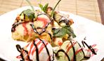 Груши в кляре - десерт на скорую руку