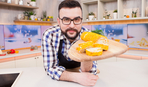 Морквяний рулет з вершковим сиром - рецепти Сенічкіна