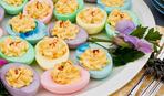 Фото-рецепт: как приготовить цветные яйца