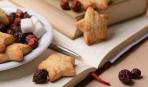 Печенье из кукурузной каши с фруктами
