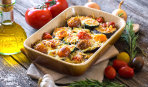 Готовим яичницу с овощами по-баскски: 4 шага