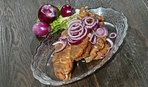 Сельдь, запеченная с картофелем