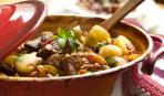 На вкусный ужин: рагу из говядины с овощами