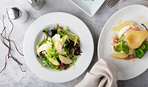 Салат из капусты с грушей