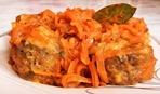 Рыба, тушеная в томате с овощами - на вкусный ужин