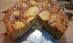 Рисовая запеканка с яблоками и грушами