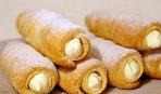 Что приготовить на десерт: трубочки со сливками