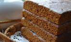 Коврижка из бородинского хлеба
