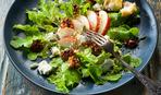 """Когда гости на пороге: салат с грушей и горчично-сливочным соусом """"Джейн"""""""