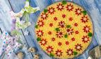 Овощной торт из доступных продуктов за полчаса