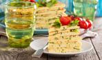 Блюдо дня: закусочный торт из кабачков