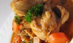 Жаркое из курицы с томатным соусом