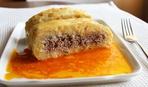 Картофельный рулет с мясной начинкой - на вкусный ужин