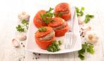 Фаршированные помидоры на ужин