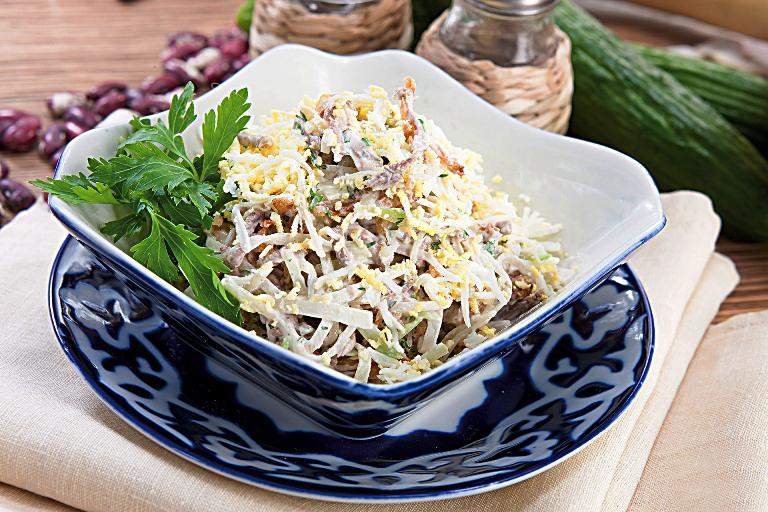салат сусамыр рецепт с фото эта