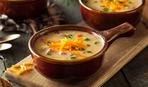Картофельный суп с пшеничной крупой