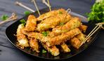 Блюдо дня: запеченные кабачковые «Ежики»