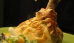 Куриные голени в слоеном мешочке