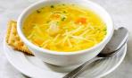 Суп из молодого картофеля с домашней лапшой