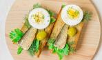 Элементарный рыбный бутерброд
