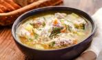Суп из баранины с фрикадельками