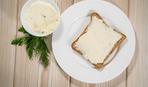 Бутерброд с сырным маслом