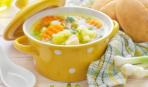Картофельный суп с цветной капустой