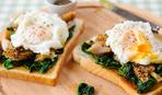 Яйца по-флорентийски со скумбрией
