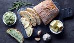 Бутерброды с зеленым маслом